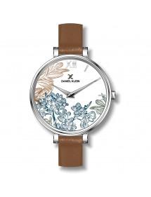 Reloj de diseño floral...