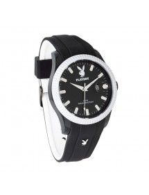 Montre PLAYBOY TWO BI 42BW - Noir et Blanche TWOB42BW Playboy 39,90 €
