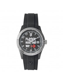 Montre mixte PLAYBOY ROCK 42BB - Noire ROCK42BB Playboy 24,00 €