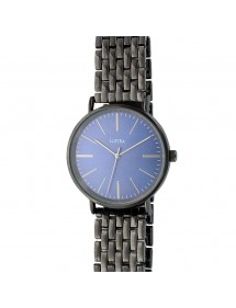 Lutetia watch in anthracite gray metal and blue dial 750125BM Lutetia 66,00 €