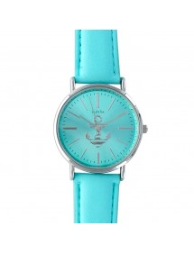 Lutetia turquoise watch with anchor and leather strap 750109TU Lutetia 49,90 €
