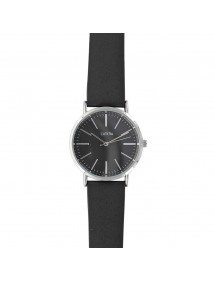 Lutetia watch metal case black dial and black synthetic strap 750154SN Lutetia 49,90€