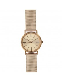 Lutetia men's watch with brown metal case and Milanese steel bracelet 750153DRM Lutetia 66,00 €