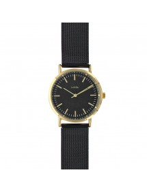 Lutetia watch with gold metal case and Milan steel bracelet 750131N Lutetia 69,90 €