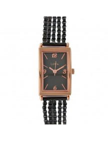 Lutetia watch case and pink gold buckle, multi-chain bracelet 750115NR Lutetia 79,90€