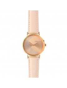 Lutetia rose moon watch, synthetic stones and bracelet 750142R Lutetia 69,90€