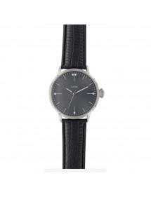 Montre homme Lutetia, cadran noir et bracelet noir aspect crocodile 54,90€ 54,90€