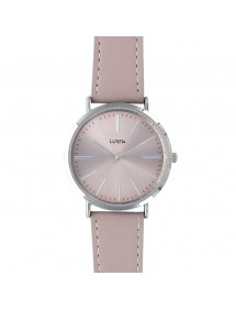 Lutetia watch with metal case and gray calf leather strap 750127G Lutetia 49,90 €