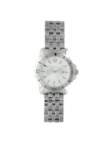 Lutetia men's watch, metal case and bracelet, silver dial 750152SA Lutetia 99,00 €