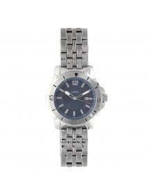 Lutetia man's watch case and metal strap, blue dial 750152SB Lutetia 99,00 €