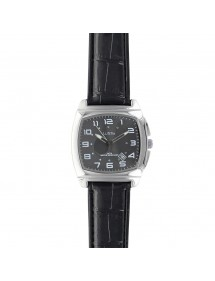 Lutetia watch with metal case, black crocodile-look dial and strap 750147SN Lutetia 69,90 €