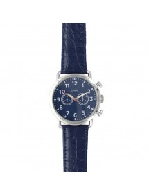 Lutetia watch, metal case, blue dial with decorative chronograph 750150SB Lutetia 59,90 €