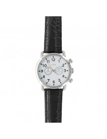 Lutetia watch metal case, white dial with decorative chrono 750150SBL Lutetia 59,90 €