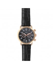 Lutetia watch, pink gold case, white dial, decorative chronograph 750150DRN Lutetia 59,90 €