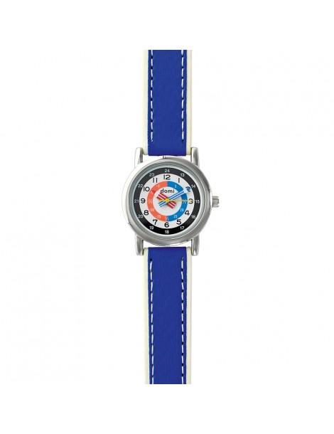 Montre pédagogique DOMI, bracelet synthétique bleu 753270 DOMI 36,90€