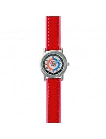 Montre pédagogique DOMI, bracelet synthétique rouge 39,90€ 39,90€
