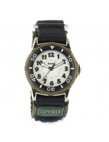 DOMI watch with metal case and velcro strap olive 29,90 € 29,90 €
