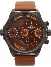 Montre homme Daniel Klein Exclusive à cadran marron, bracelet cuir DK11363-6 Daniel Klein 89,90€