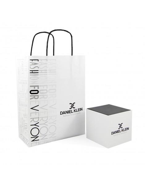 Montre homme Daniel Klein Exclusive à cadran noir, bracelet cuir noir DK11701-6 Daniel Klein 89,90€