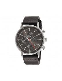 Montre homme Daniel Klein Exclusive à cadran noir, bracelet cuir noir 89,90€ 89,90€