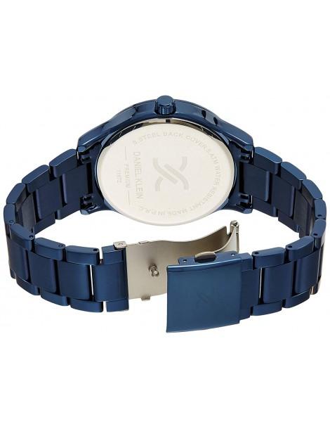 Montre homme Daniel Klein Premium, boitier bleu et cadran argenté DK11672-3 Daniel Klein 89,90€