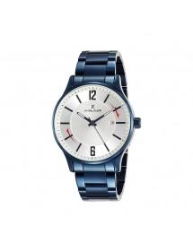 Daniel Klein Premium Herrenuhr, blaues Gehäuse und silbernes Zifferblatt 89,90€ 89,90€