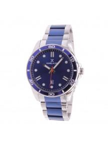 Montre homme Daniel Klein Premium, bracelet argenté et bleu 89,90€ 89,90€
