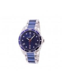 Reloj de hombre Daniel Klein Premium, plata y pulsera azul. 89,90€ 89,90€