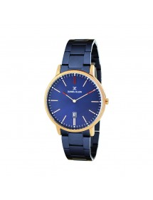 Daniel Klein Fiord men's watch, pink gold case, blue bracelet DK11504-3 Daniel Klein 79,90 €
