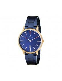 Reloj para hombre Daniel Klein Fiord, caja de oro rosa, brazalete azul 79,90€ 79,90€