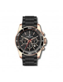Daniel Klein Exclusive men's watch, pink gold case, black dial DK11753-2 Daniel Klein 99,90 €