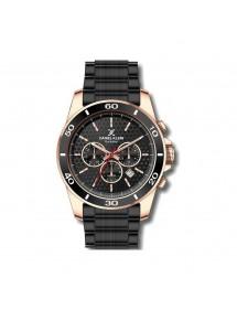 Reloj exclusivo para hombre Daniel Klein, caja de oro rosa, esfera negra. 99,90€ 99,90€