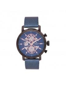 Montre homme Daniel Klein Exclusive, cadran et bracelet métal bleu 99,90€ 99,90€