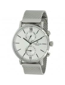 Montre homme Daniel Klein Exclusive boitier et bracelet métal argenté 99,90€ 99,90€