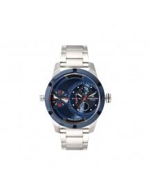 Orologio da uomo Daniel Klein esclusivo, quadrante blu doppio fuso orario 99,90€ 99,90€