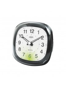 Alarm clock LAVAL black quartz with green light and snooze function 800150 Laval 1878 18,00 €
