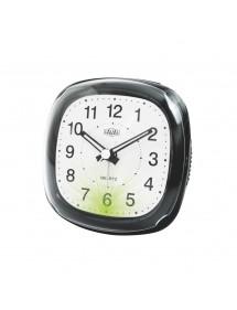 Réveil LAVAL noir à quartz avec lumière verte et fonction snooze 18,00€ 18,00€