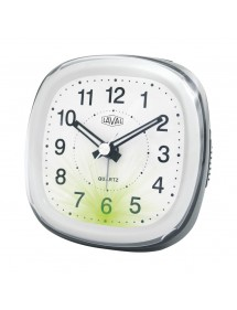 LAVAL clock white / gray quartz with green light and snooze function 800149 Laval 1878 18,00 €