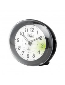 LAVAL oval black quartz clock with green light and snooze function 18,00 € 18,00 €