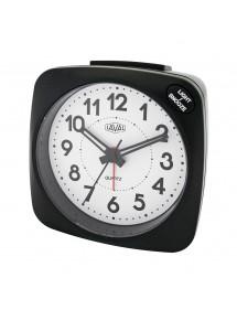 Réveil LAVAL noir à quartz silencieux, lumière bleue et fonction snooze 19,90€ 19,90€