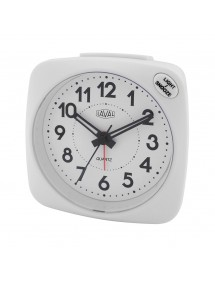 LAVAL clock, white quartz silencer, blue light and snooze function 800155B Laval 1878 19,90 €