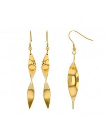 Boucles d'oreilles spirales en acier doré 39,90€ 39,90€