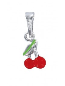 Pendant with a rhodium silver cherry 3161006 Suzette et Benjamin 16,00 €