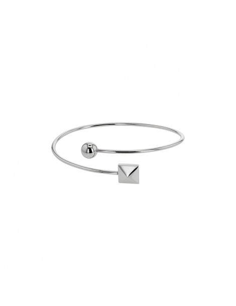 Square Bangle Bracelet and Pink Steel Ball 31812499R One Man Show 38,00 €