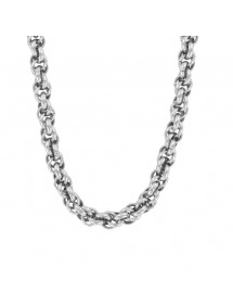 Necklace for men or women in glossy steel 45 cm 31710220 One Man Show 69,90 €