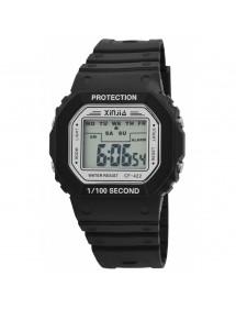 Montre XINJIA avec bracelet en silicone noir 2400017-001 XINJIA 19,90€