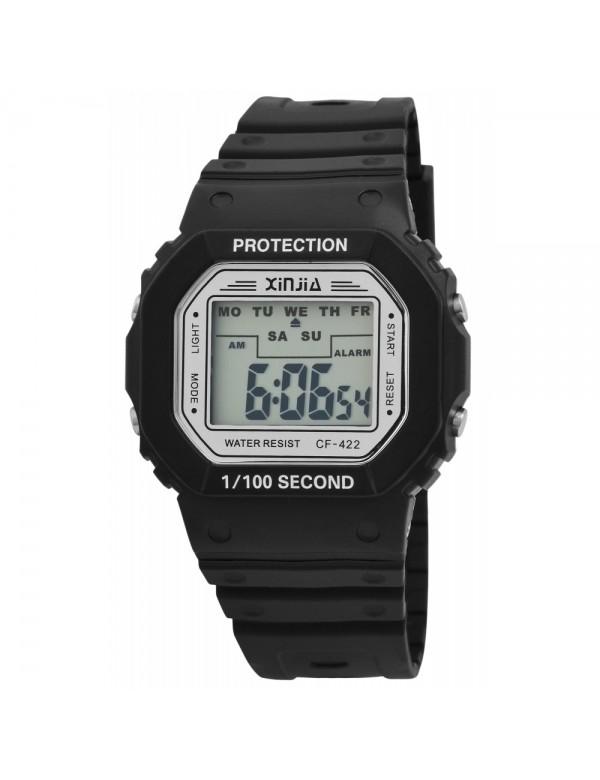 XINJIA watch with black silicone strap 2400017-001 XINJIA 16,90€