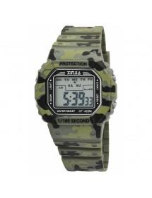 Reloj XINJIA con correa de silicona verde 2400016-002 XINJIA 16,90€