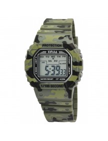 XINJIA watch with green silicone strap 2400016-002 XINJIA 19,90 €