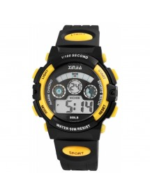 Reloj digital deportivo XINJIA negro y amarillo 2410006-003 XINJIA 18,50€